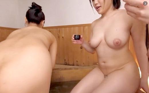 【VR】おっぱい混浴 15