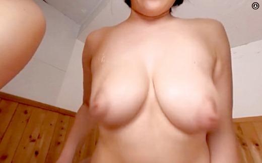 【VR】おっぱい混浴 35