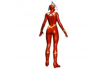 女性ウルトラマン試作17b