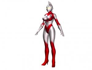 女性ウルトラマン試作13_手袋