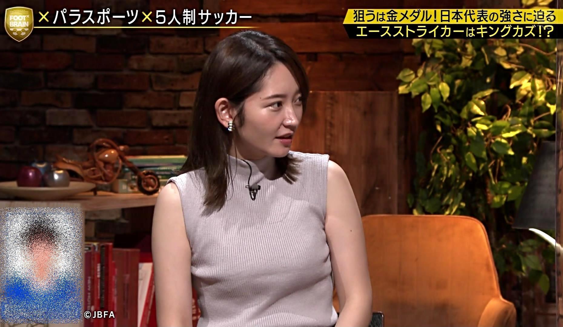 竹崎由佳の目隠し腋魅せ (1)