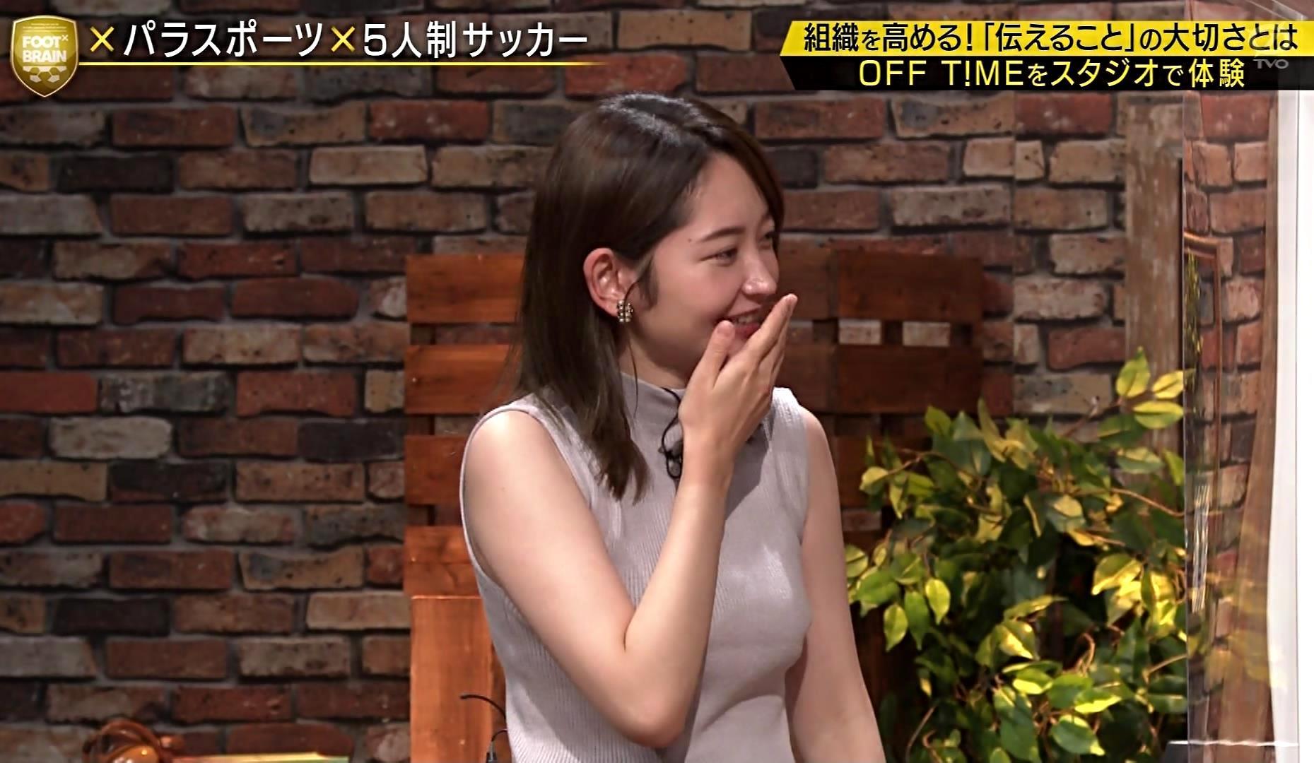 竹崎由佳の目隠し腋魅せ (8)