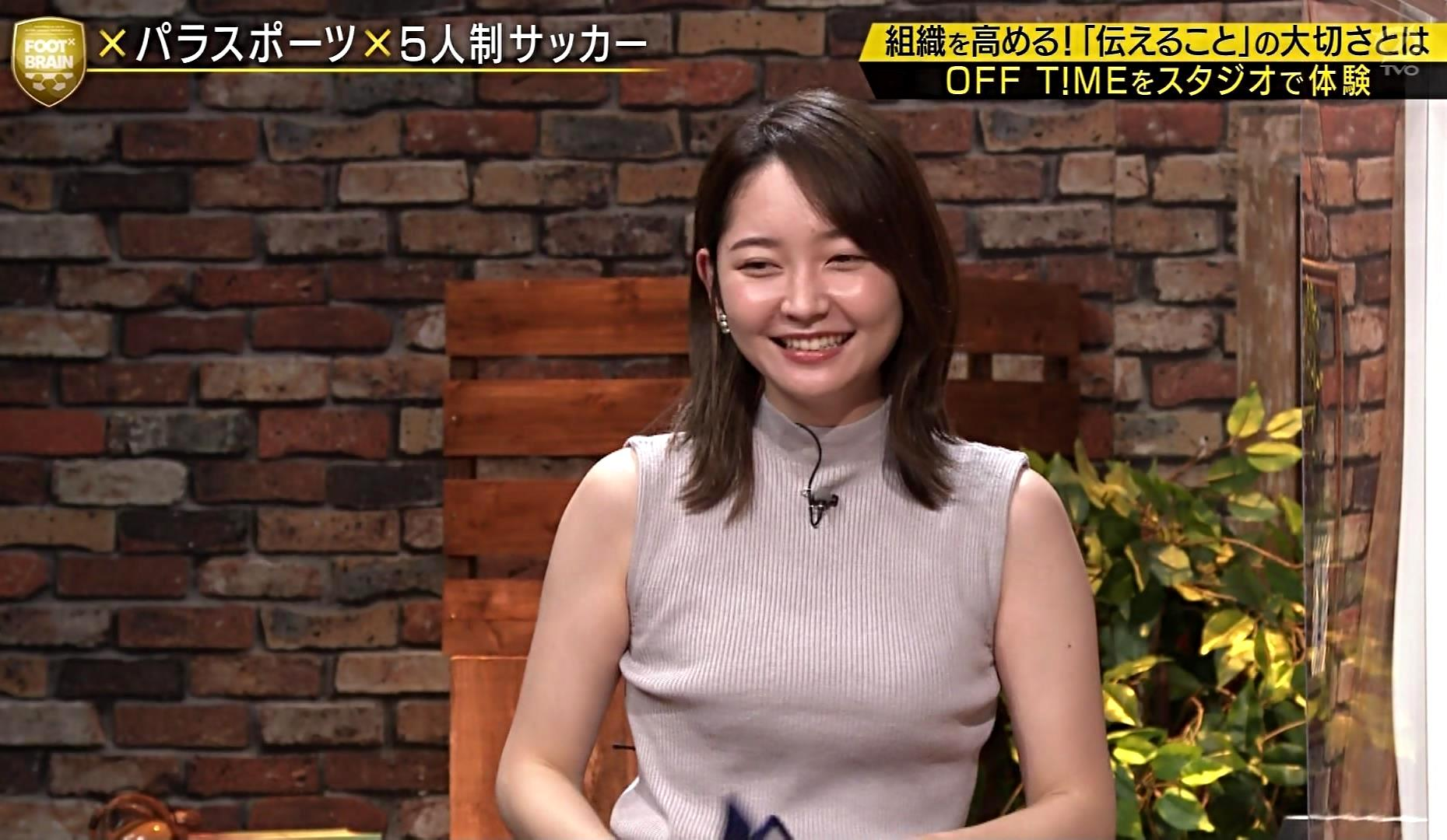 竹崎由佳の目隠し腋魅せ (9)