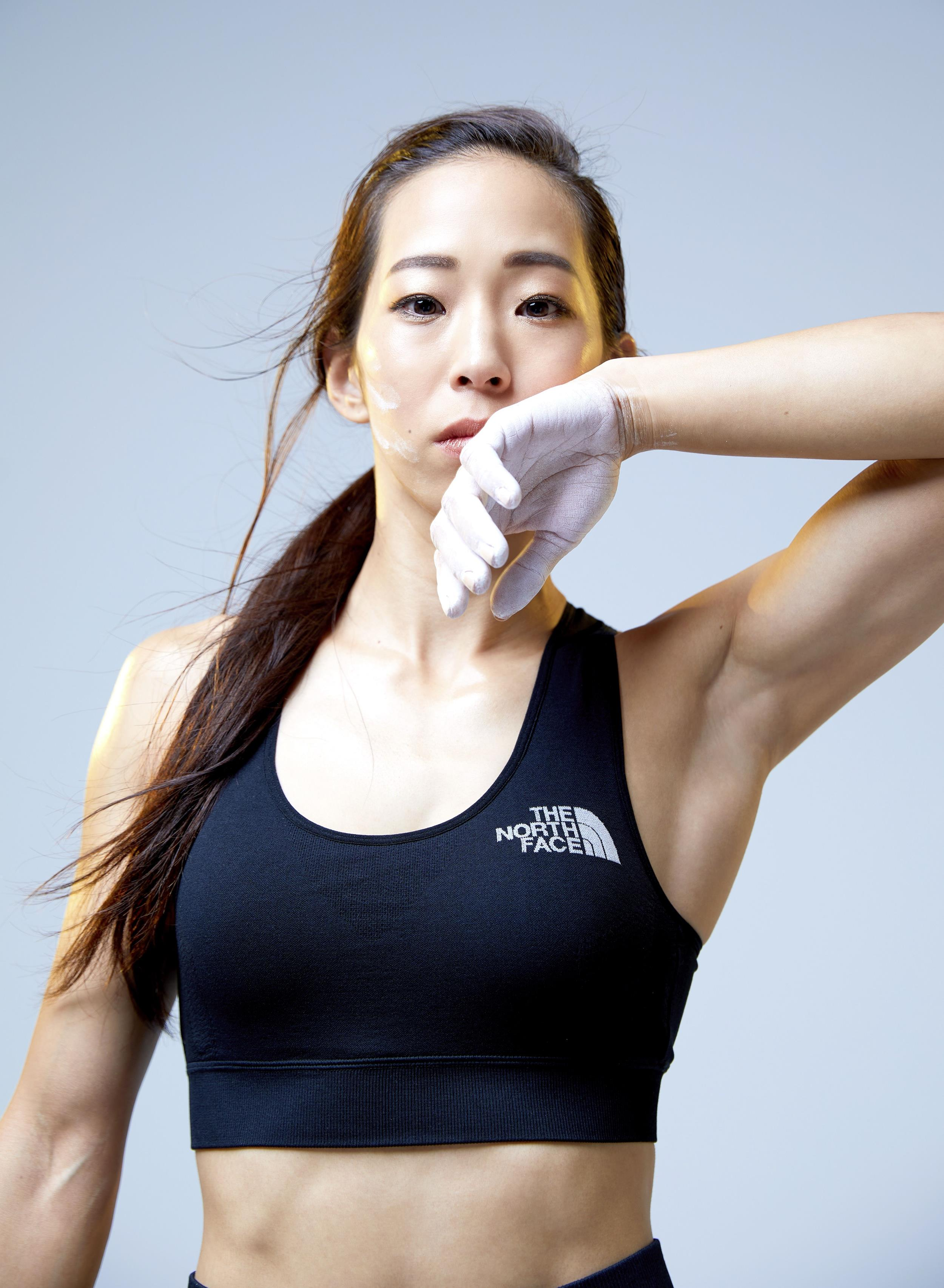 野口啓代の筋肉腋 (10)
