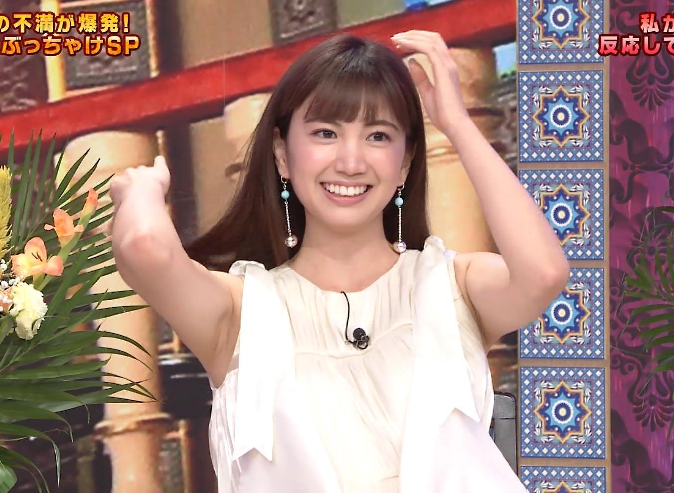 源藤アンリの腋見せキャプ (1)