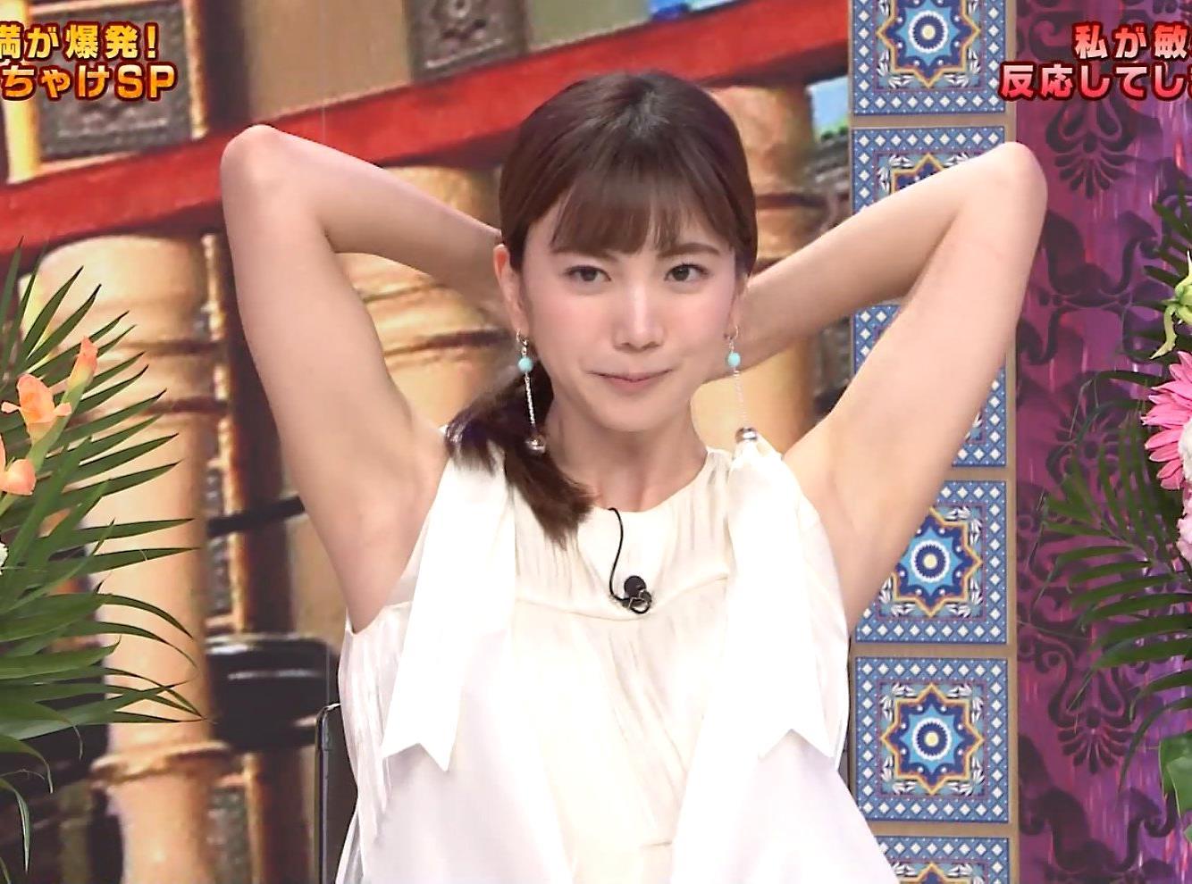 源藤アンリの腋見せキャプ (2)