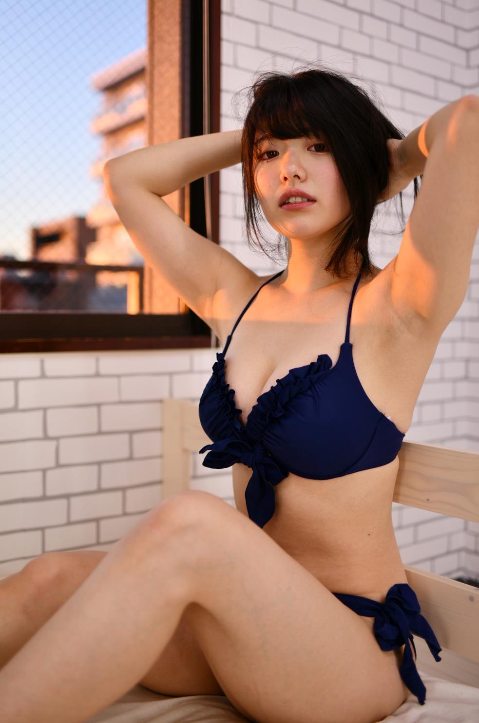山田かなのツルスベボツ腋 (6)