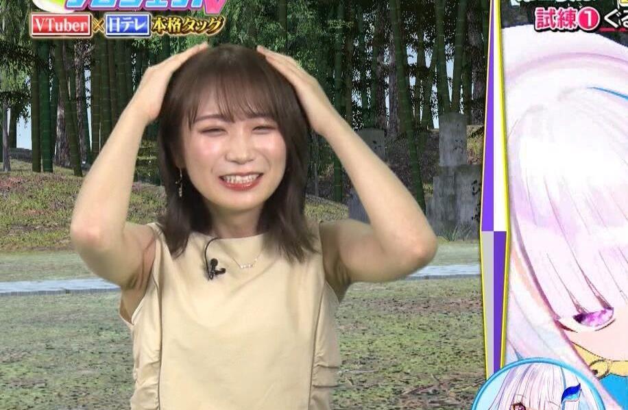 秋元真夏のシワ腋 (5)
