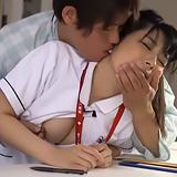 夜勤で疲れて居眠りしている隙に…。患者さんに乳首をイジられチ○ポが欲しくなってしまい、声を出さないようにエッチしちゃった看護師さん