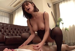 Sexyランジェリー義母の跨りグラインド痴女FUCK!藤森里穂2
