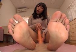 【M男】見せつけ足裏フェチ淫語責め手コキ!2